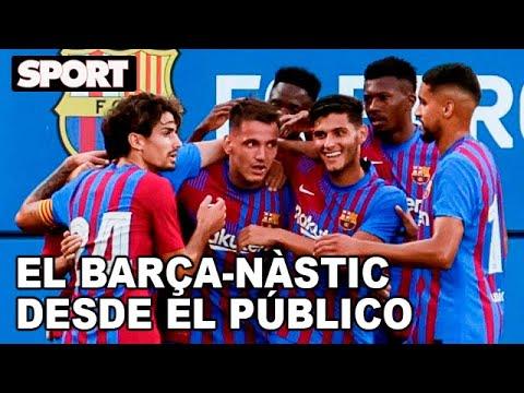 ¡DESDE EL PÚBLICO! 😍 HIGHLIGHTS DEL FC BARCELONA - NÀSTIC DE TARRAGONA (4-0)