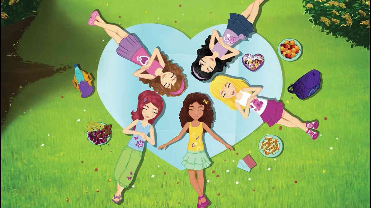 I Heart Card You Lego Friends Webisode Season 2 Ep1 Youtube