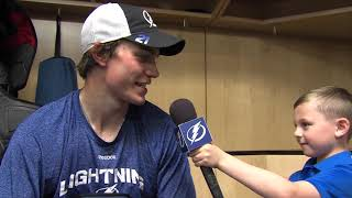 Junior Reporter - One on one with Brayden Point - 20161017
