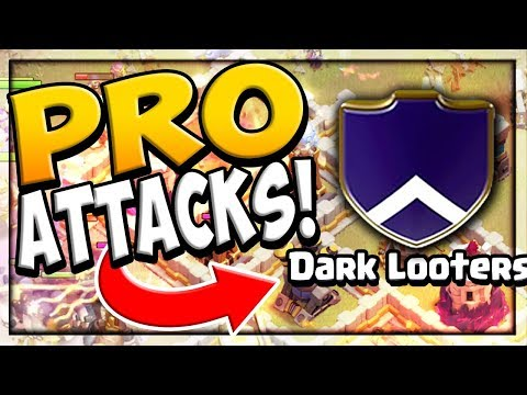 PRO ATTACKS - in DETAIL! Clash of Clans BEST Attackers' Strategies!