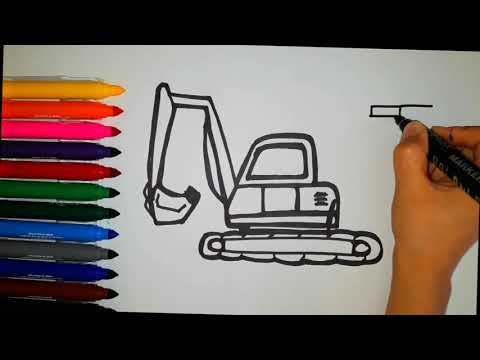 Kepçe çizimi-how To Draw Ladle