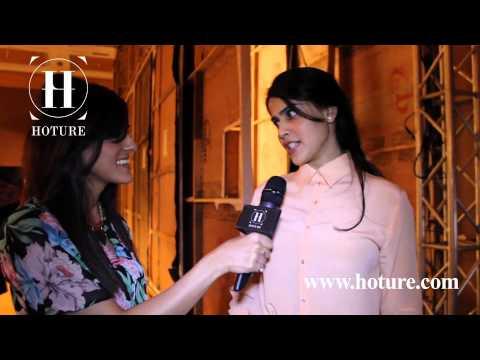 Genelia D'Souza EXCLUSIVE interview at Backstage! LakmeFashionWeek'13(www.hoture.com