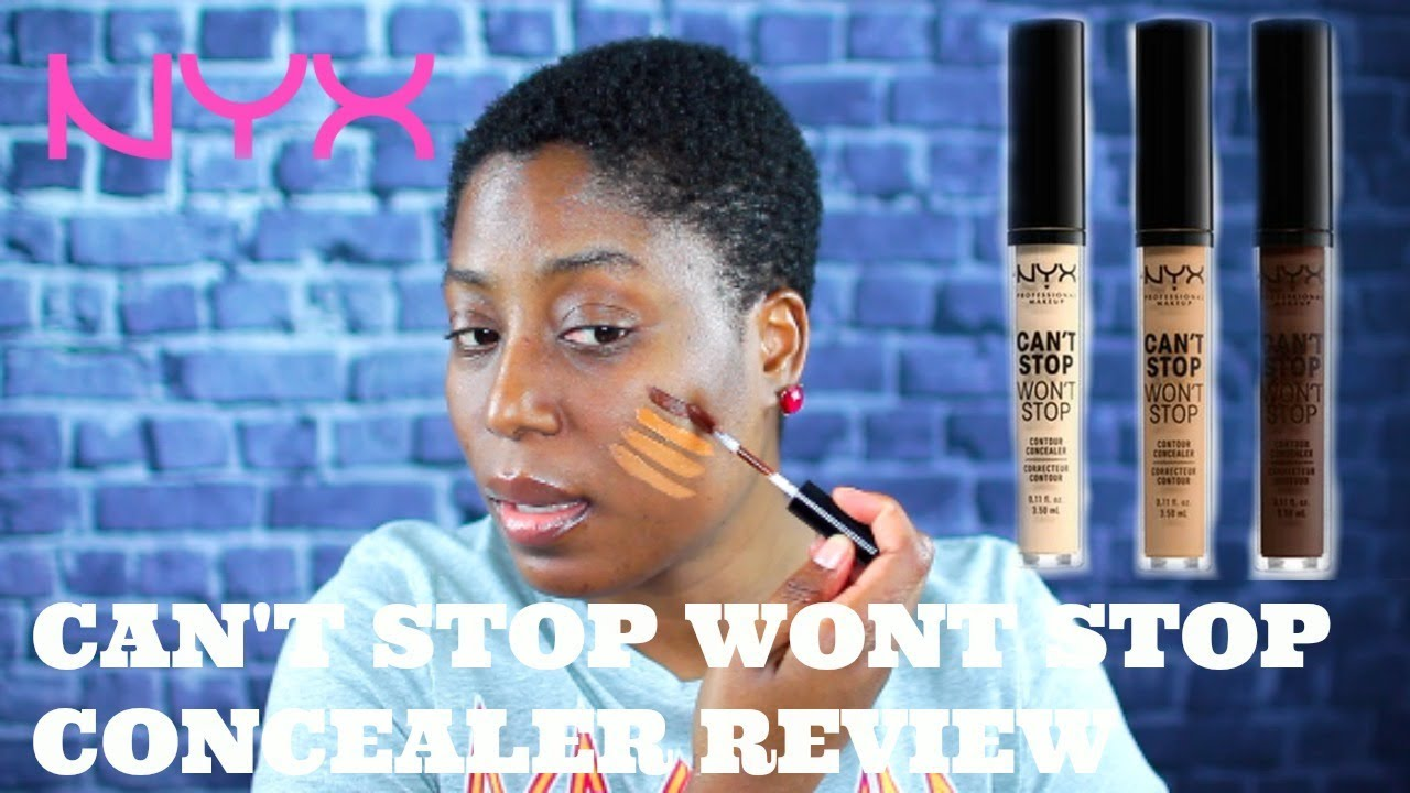 NYX CAN'T STOP WON'T STOP CONCEALER REVIEW