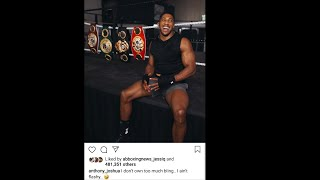 BREAKING NEWS: ANTHONY JOSHUA TAKES ANOTHER DESPERATE JAB & INSULT AT DEONTAY WILDER 4 ATTENTION  !