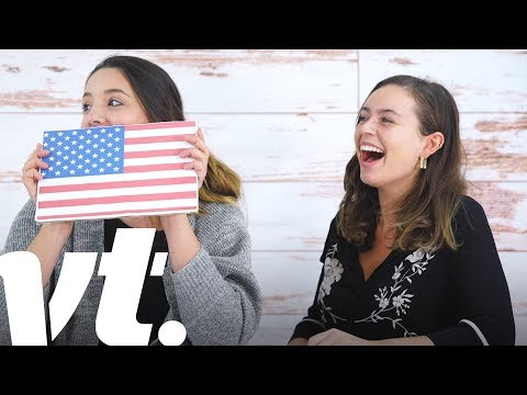British People vs. American Citizenship Test | VT Challenges