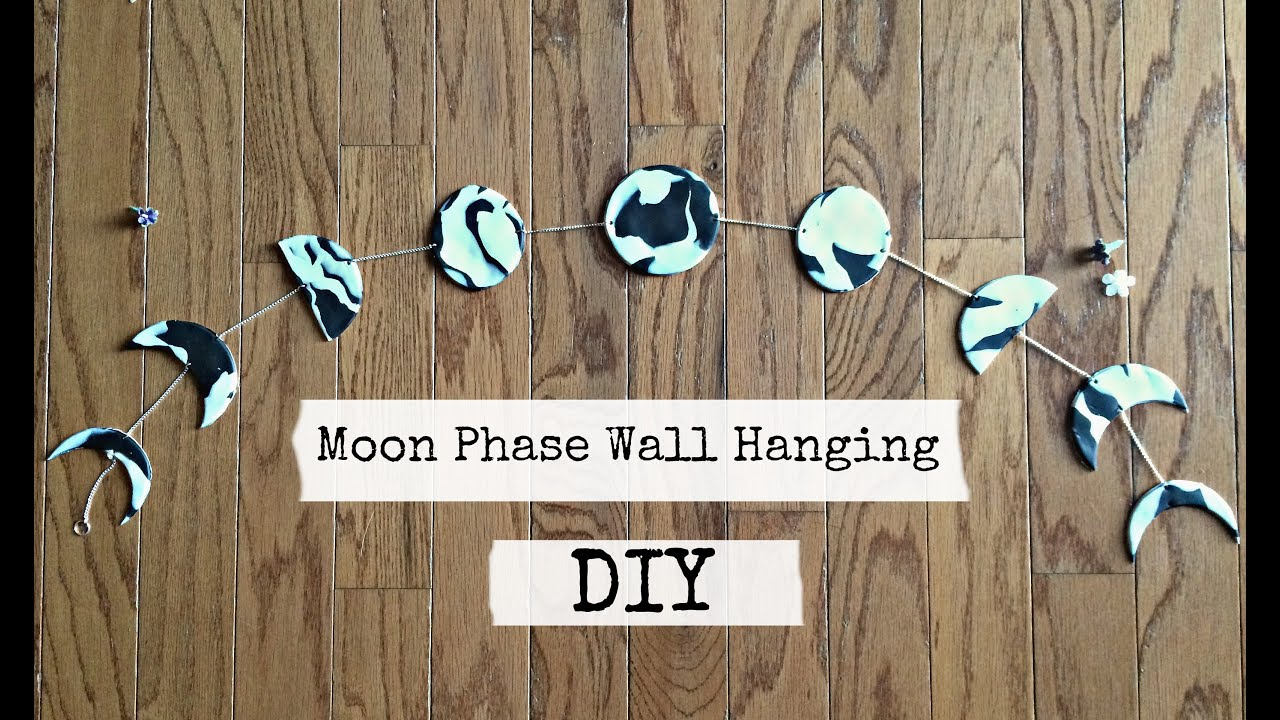 Image result for moon phase wall hanging