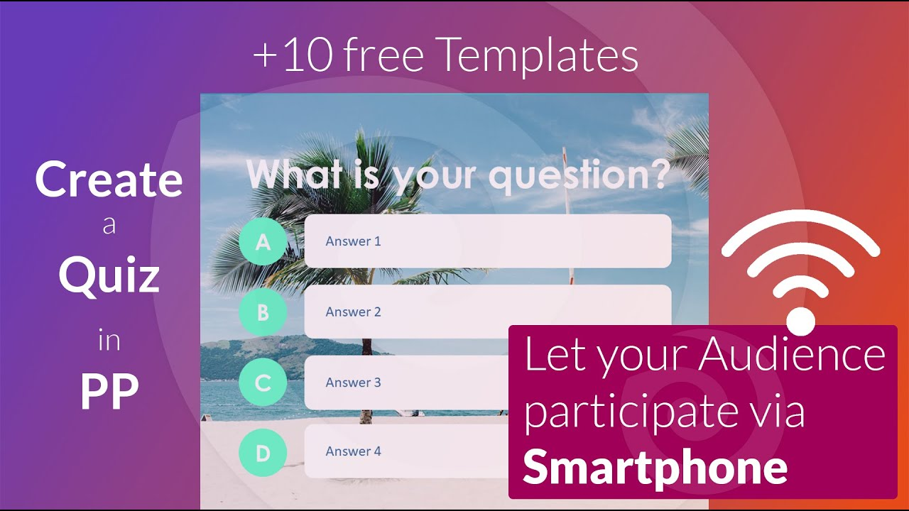 21 free interactive PowerPoint Quiz Templates (21)  SlideLizard® With Regard To Powerpoint Quiz Template Free Download