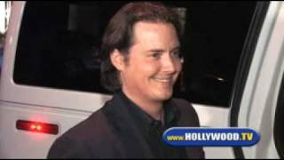 Jeremy London and Family Leaving KOI.