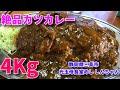 【大食い】愛情たっぷり盛り!絶品カツカレー4Kg!【三宅智子】