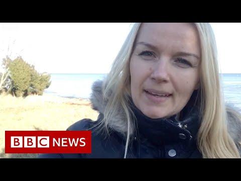 Life on Estonia's 'corona island' - BBC News