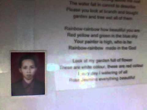 LIHAT KEBUNKU,lagu Anak Anak Versi ENGLISH