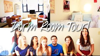dorm room tour