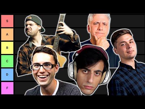 Music YouTuber Tier List