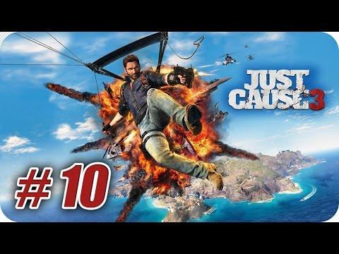 Just Cause 3 - Gameplay Español - Capitulo 10 - Enredado en Azul - 1080pHD