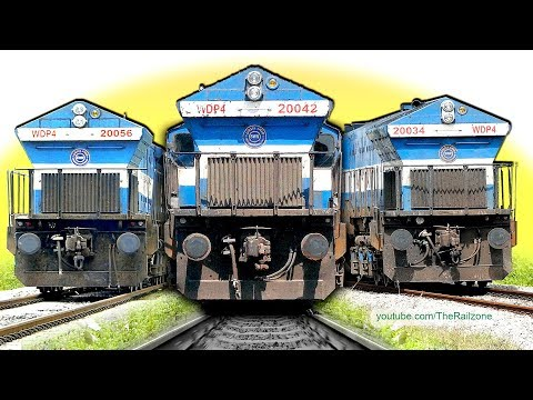 Difficult to Drive EMD Locomotives | Long Hood WDP4 | Indian Railways 1