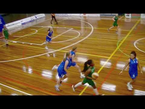 Basketball VU18-1 Dozy BV Den Helder - Divine Rotterdam 29-10-17