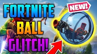 INSANE *NEW* FORTNITE HAMSTER BALL GLITCH! *SEASON 8* (TUTORIAL) - Fortnite