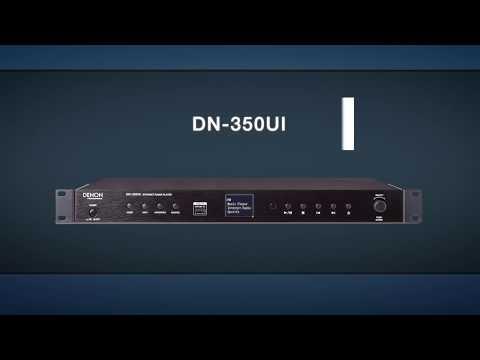 Denon Professional DN-350UI Spotify & Internet Radio