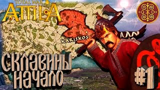 Total War: Attila - Склавины - ПРОХОЖДЕНИЕ #1 Начало!