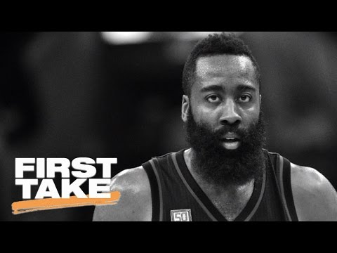 Did Houston Rockets James Harden Choke Against San Antonio Spurs? | First Take | May 10, 2017