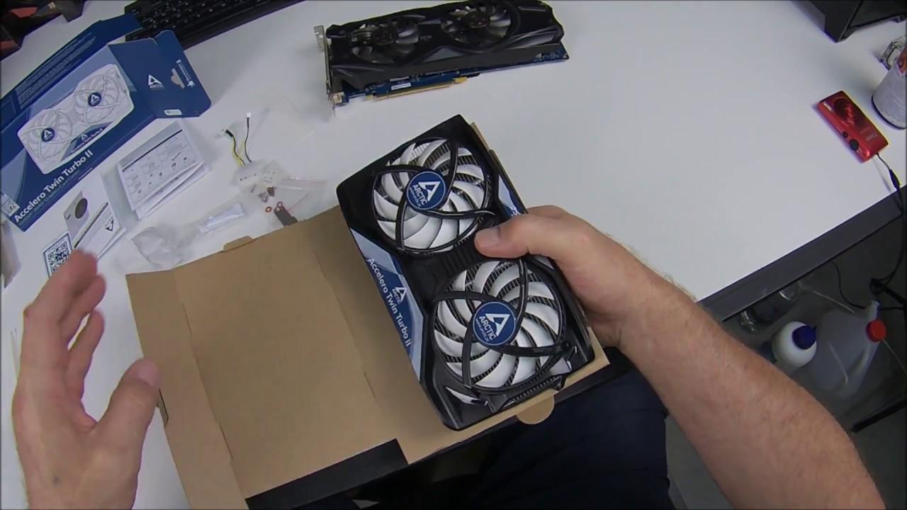 Arctic Accelero Twin Turbo II GPU Kühler