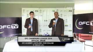 Video 2014 OFC Champions League Draw download MP3, 3GP, MP4, WEBM, AVI, FLV September 2018