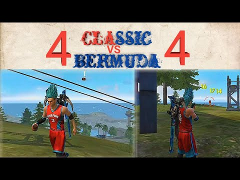 Classic Bermuda match 4 vs 4 full gameplay.
