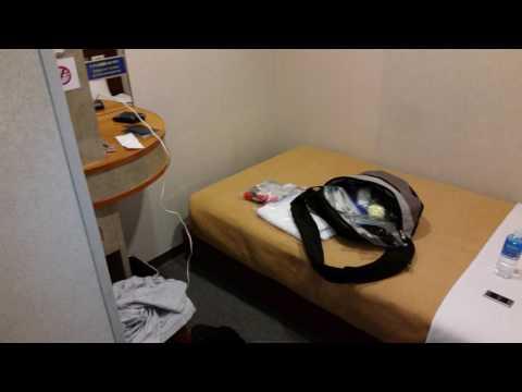 Narita International Airport Shower & Dayroom Interior Tour - $15 for a Single - Japan, May 2017