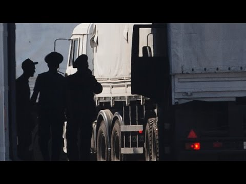 Pentagon: Russian convoy 'violated sovereignty'...
