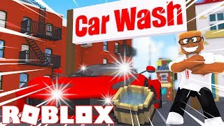 MY OWN CAR WASH BUSINESS IN ROBLOX (Roblox Car Wash Tycoon)