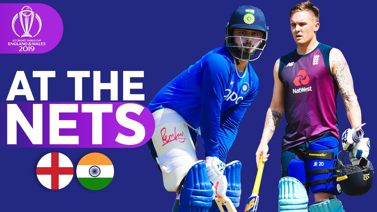 ENG v IND - At The Nets | ICC Cricket World Cup 2019