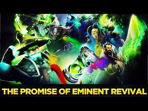 The Promise of Eminent Revival - 5 Immortal Items Treasure Bundle LVL 615 Battle Pass Dota 2 Preview