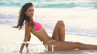 Robin Holzken shows how to be sexy on the beach| Intimates | Sports Illustrated Swimsuit