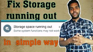 fix all mobile storage space running out problem in all android mobile hindi || how to fix
