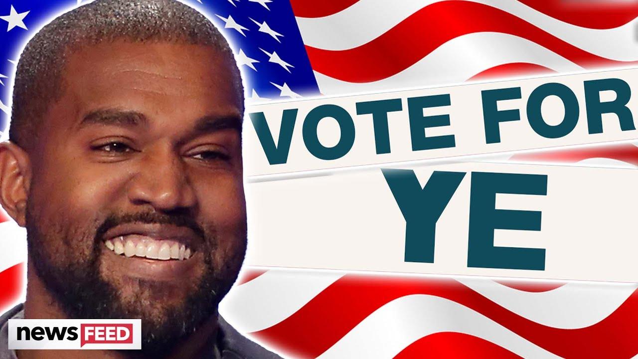 Kanye West's Running For PRESIDENT!