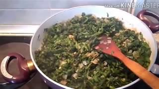 КАК ПРИГОТОВИТЬ крапивку)))легкое весеннее витаминное блюдо.