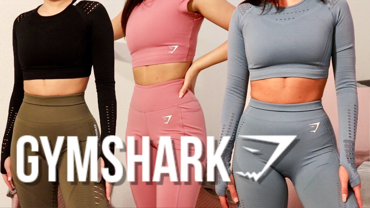 9ca7d1796d2 GYMSHARK TRYON & REVIEW | Flawless Knit, Energy Seamless & more ...