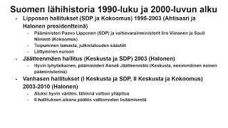 Suomen lähihistoria
