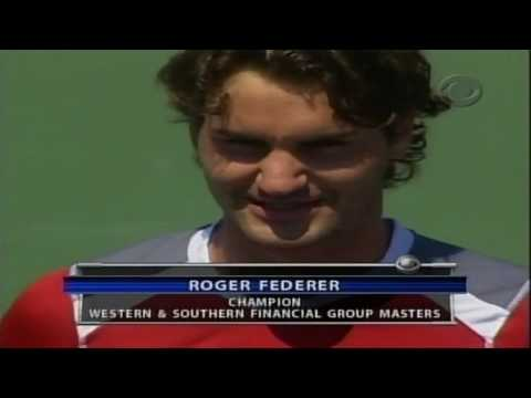 [Roger Federer] - [Funny Trophy Ceremony]