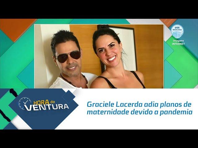 Graciele Lacerda adia planos de maternidade devido a pandemia e pensa em adotar criança