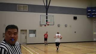 2018 Burnaby Fall League - Thunder vs Reds - Roundball BC Mens Basketball League