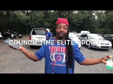 6u 2018 Georgia Thoroughbreds vs Rutherford County Crimson Tide