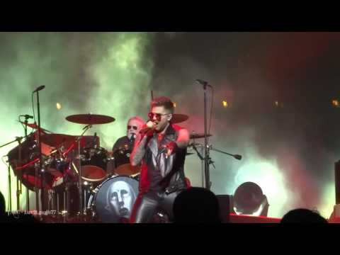 Q ueen + Adam Lambert - WWRY & HtF - Prudential Center - Newark, NJ