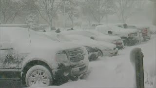 January Blizzard Hits Twin Cities, Southern Minnesota