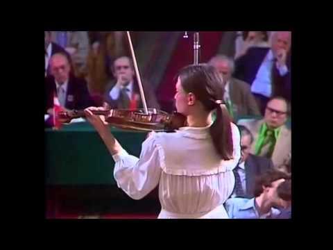 Viktoria Mullova - Finals of 7th International Tchaikovsky Competition 1982