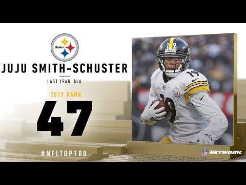 #47: Juju Smith-Schuster (WR, Steelers) | Top 100 Players of 2019 | NFL