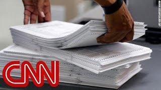 Florida Senate race headed to manual recount