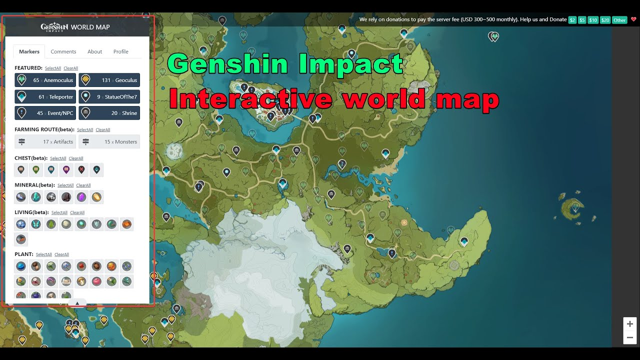 The Easiest Way To Find Anemoculus Geoculus Genshin Impact Youtube