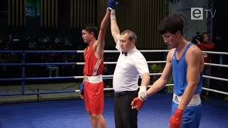 Финальные бои XXXI международного турнира по боксу памяти Галыма Жарылгапова