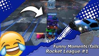 Funniest Fails / Moments Rocket league